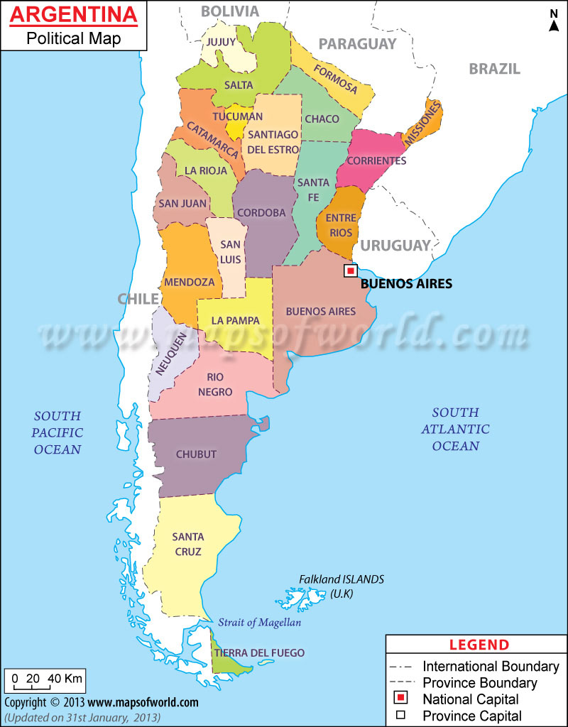 Thermoplastic Road Marking Machine Manufacturer Argentina - Argentina map cities