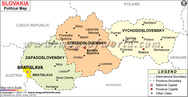 slovakiapoliticalmap