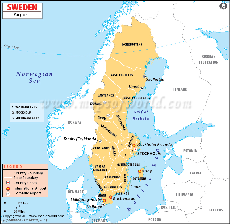 Thermoplastic Road Marking Machine Manufacturer Sweden - Sweden map of cities